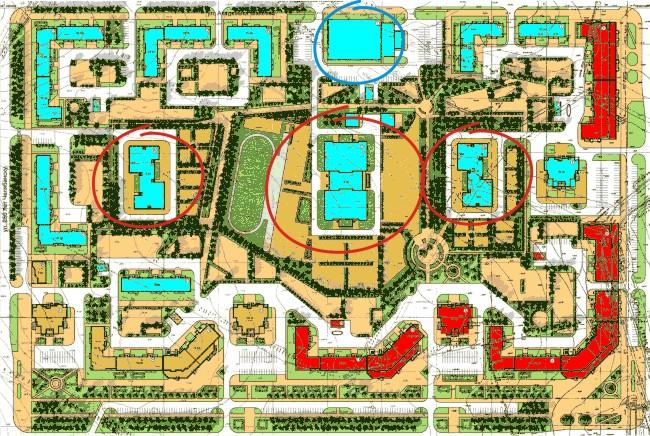 План застройки 33 микрорайона